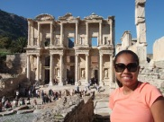 The Library ruins in Ephesus